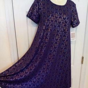 Elegant Carly LuLaRoe dress
